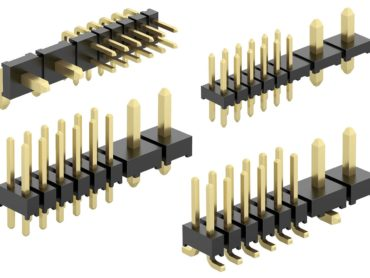 Rastr kombinovaných kolíkových lišt pro přenos výkonu a signálu